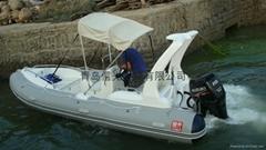 rigid boat