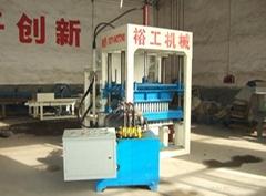 QT4-20 Semiautomatic Fly Ash Brick Making Machine
