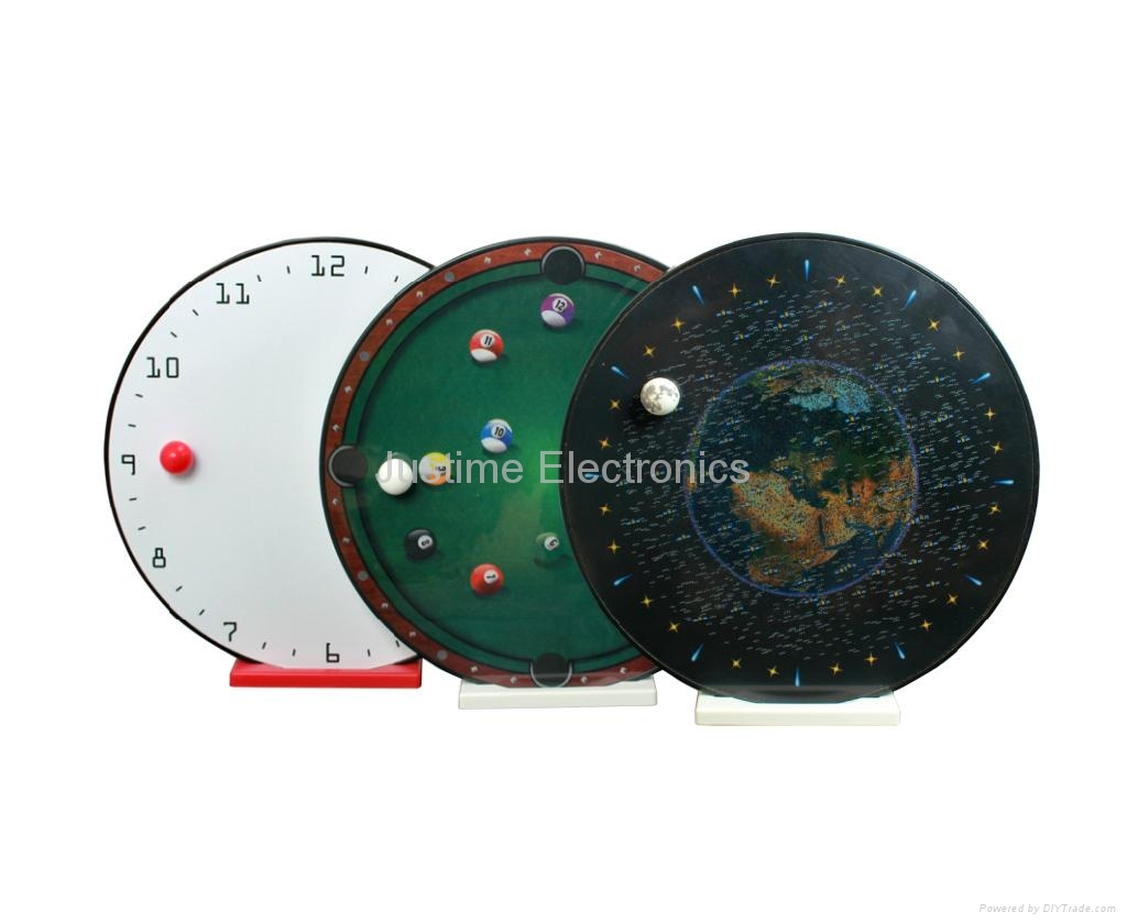 magnetic ball clock 1