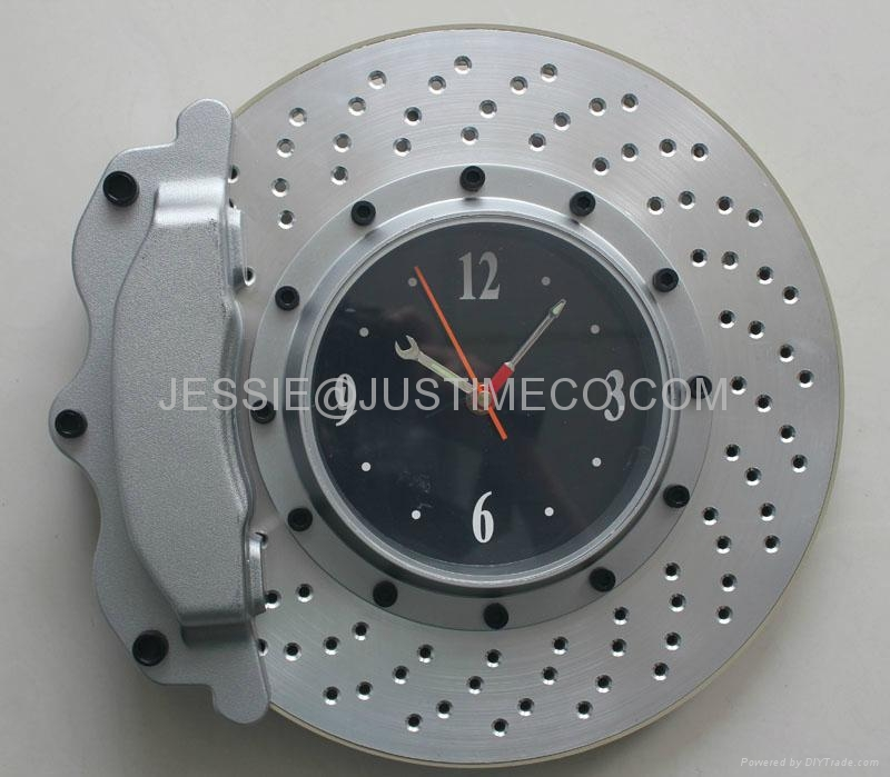 Motorcycle Tyre Car Tyre Wall Clock Jt2416 Jt2515 Justime