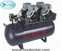 onr for four oil-free slient air compressor