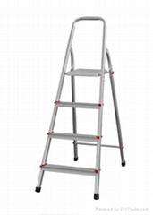 四阶铝合金踏步家用梯