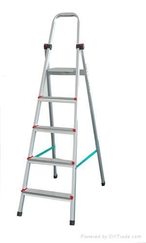 五阶高强铝合金家用梯   1
