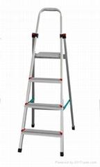 四阶高强铝合金家用梯