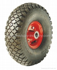 wagon wheel, truck wheel, trolley wheel, cart wheel, pneumatic wheel