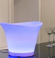 LED wines ice bucket