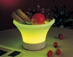 发光水果盘