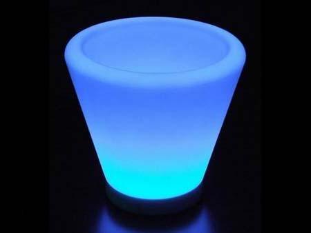 LED发光圆口花盆 2