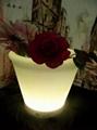 LED发光圆口花盆 5