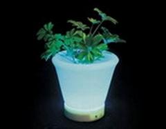 LED light round flowerpot