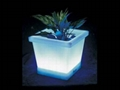 Quadrilateral lighting pot