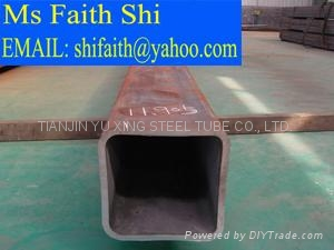 ASTM A53 rectangular hollow pipe/ ASTM A106 square steel tube 1