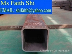 ASTM A53 rectangular hollow pipe/ ASTM A106 square steel tube