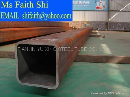 ASTM A53 rectangular hollow pipe/ ASTM A106 square steel tube 3