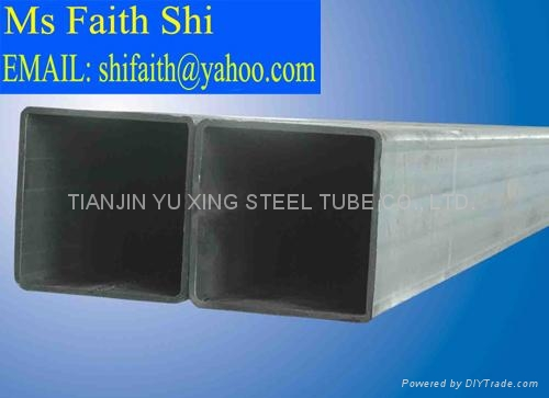 ASTM A53 rectangular hollow pipe/ ASTM A106 square steel tube 4