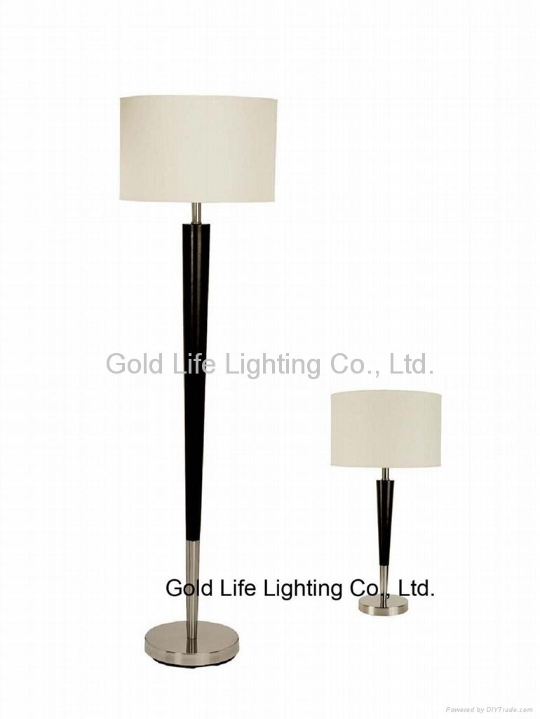 bedroom lamp sets for hotel or home use 5500 gold life