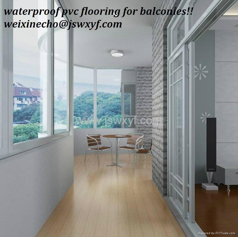Hot Pvc Outdoor Flooring In Best Quality Wood Like Interlocking 2