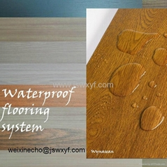 Popular PVC Wood Flooring healthy AC5