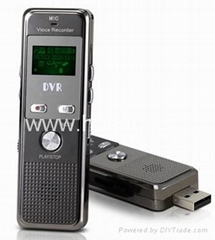digital voice recorder with metal housing & 24 kinds of languages