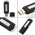 8GB USB flash drive and voice recorder (about 15hours battery life)