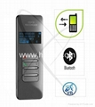 bluetooth cell phone recorder support TF card and 24 languages 4