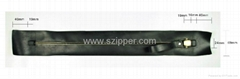metal airtight zippers
