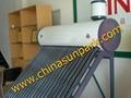 Coil pressure solar water heater