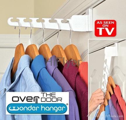 Over The Door Wonder Hanger As Seen On Tv Magic Hanger Hf