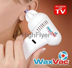Waxvac Ear Vacuum Cleaner As Seen On TV Electronic Ear Cleaner Ear Wax Cleaner