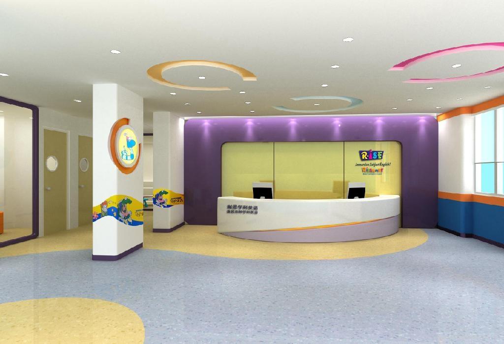 幼儿園專用PVC地板 3