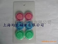 透明塑料磁扣