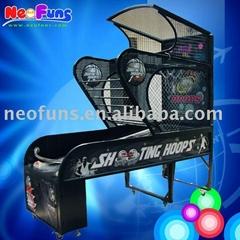 Shooting Hoops basketball game machine