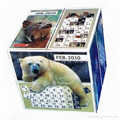 advertising magic cube magic concept magic calendar promotion gift
