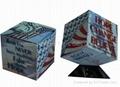 advertising magic cube magic concept magic calendar promotion gift 3