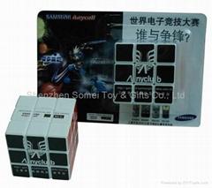 promotion magic cube rubik's cube puzzle cube LOGO customize
