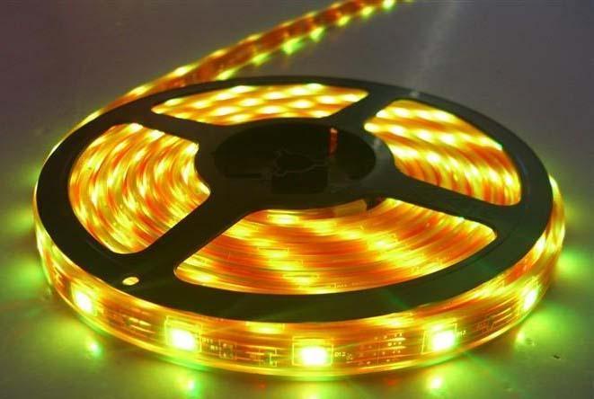 热买LED贴片灯带5050  60珠 黄光 1