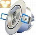 厂家直销LED高亮度天花灯/展柜灯3W!!!节能环保~~~  2