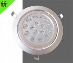 厂家直销LED高亮度天花灯/展柜灯/珠宝照明 15W