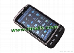 HTC Desire G7  3.8 inch WIFI Dual sim cards TV phone JAVA 2.0 Flip mute Gravity