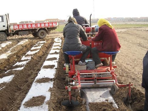 2mb 1 2 Potato Planter Rotary Type Hongzhu China Manufacturer