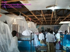 insecticide-treated mosquito nets(ITNs)against malaria in Africa