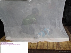 long lasting insecticide treated polyethylene mosquito net against Malaria