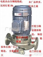 GDF不锈钢耐腐蚀管道泵式离心泵|管道泵|离心泵