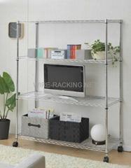 Medium Duty Wire Rack(Size: D46XW122XH150CM)