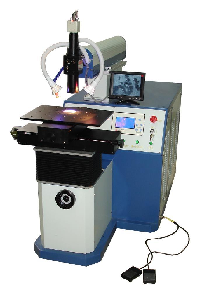 仪表电器不锈钢自动激光焊接机 2