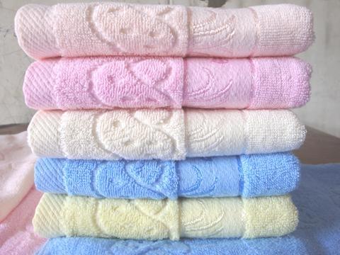 提花面巾12000条厂家直销,32股纱,100克/条,价格4 1
