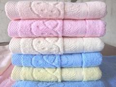 提花面巾12000條廠家直銷,32股紗,100克/條,價格4