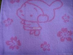 庫存外貿色織提花方巾直銷,35000條,單價0.85元,