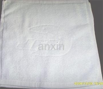 白色提花方巾庫存直銷,出廠價格1.35元/條,  品, 1