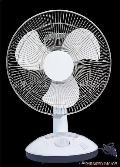 Small Table Fans : Emergency charging a small table fan yg china